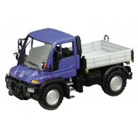 Модель машины Mercedes-Benz Unimog U400 1:32 Welly